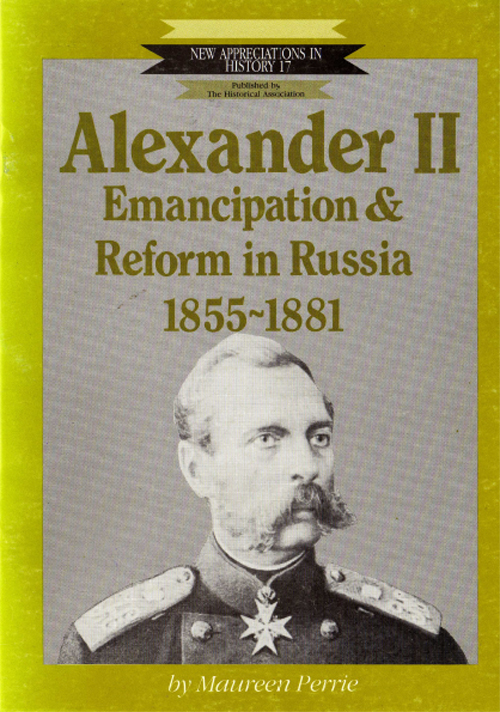 an introduction to the history of alexander ii Alexander ii was not being liberal for its own sake according to official records kept by the ministry of the interior (equivalent to the home office in britain) there had been 712 peasant uprisings in russia between 1826 and 1854.