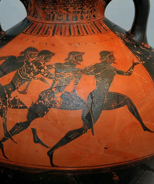 history of the ancient olympics Coubertin was inspired by the ancient greek games—dating back to 776 bc—where competition was honored above winning he sought to capture that spirit in the modern olympics and made the games an international celebration of sportsmanship and peace.