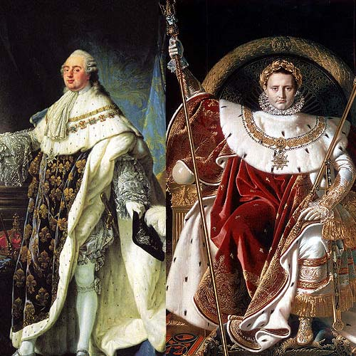 king louis xvi v napoleon bonaparte Start studying the french revolution + the rise and fall of napoleon (as wife of louis xvi) napoleon bonaparte.