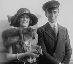 Louis (1900-1979) and Edwina (1901-1960) Mounbatten. Early 1920s. Library of Congress.