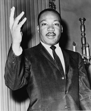 Martin Luther King, Jr. 1964. Library of Congress.