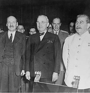 the ideological differences stalin vs truman Cold war origins, wartime meetings, collapse of the wartime alliance, soviets and eastern europe, the west and containment ideological differences - stalin vs truman basic outline of differences from bbc schools site.