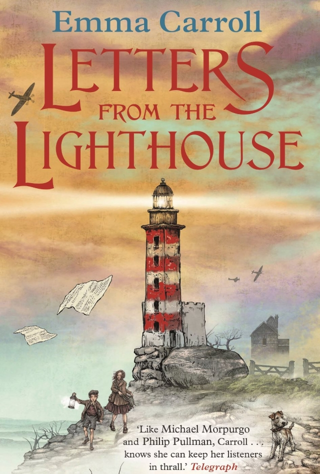 Letters from the Lighthouse by Emma Carroll / Primary